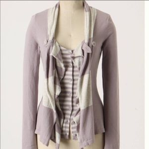 NWOT Anthropologie Yemaya Cardigan by Moth - Lilac